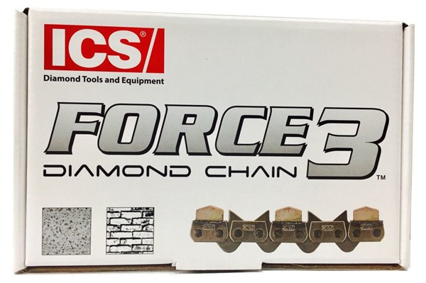 Bild von  ICS FORCE-3-35, 40cm Premium Diamantkette